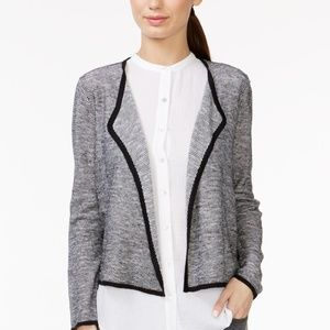 Eileen Fisher Black & White Textured Sweater